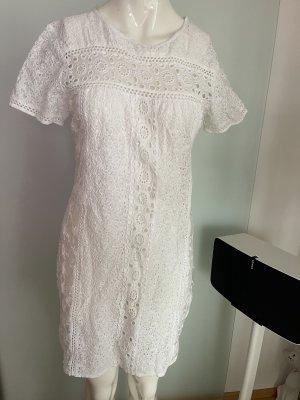Sommer Kleid Gr 38 M von Sidecar Marlene V17 weiß
