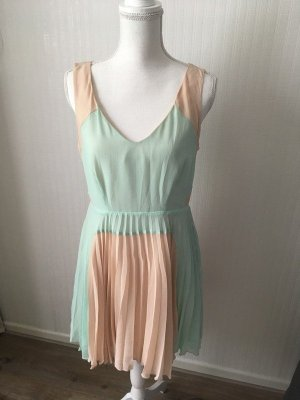 Oasis Empire Dress nude-turquoise