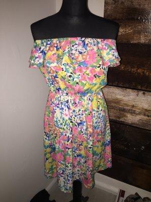 Sommer Kleid Gr S-M blumenkleid
