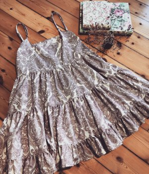Sommer Kleid, Handmade, größenverstellbar, Ornamente
