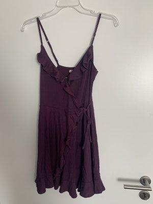 Hollister Kopertowa sukienka purpurowy-fiolet