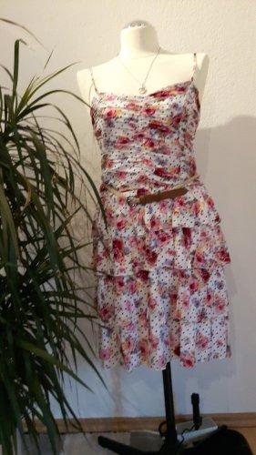 Sommer - Kleid mit bunten Blümchen