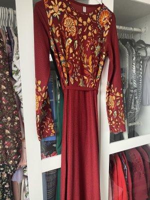 Sommer Kleid mit Muster