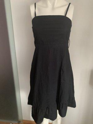 Sommer Kleid mit Volant Gr 34 36 S  von Yessica Baumwollmischung