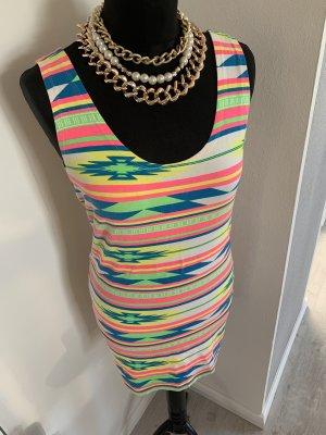 Sommer kleid neon Farben Gr.36-38