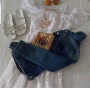sommer Kleid S 34