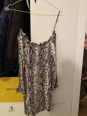Sommer Kleid Schulterfrei