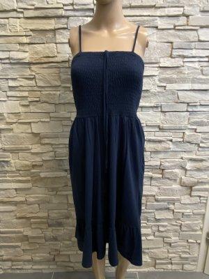 Blue Motion Sukienka midi ciemnoniebieski