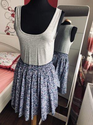 Sommer Kleid von H&M, Grau /Blau , neu