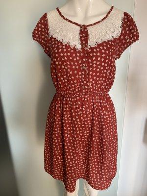 Sommer Kleid von Hallo Miss Gr 36 38 S mit Spitze