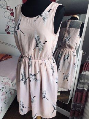 Sommer Kleid von ONLY , Rosa/Weiß gr.38, neu