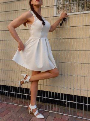 Sommer Kleid weiß M