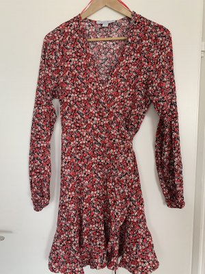 Sommer Kleid Wickelkleid