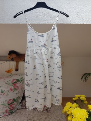 sommer kurz kleid mit surfgirl print gr XS