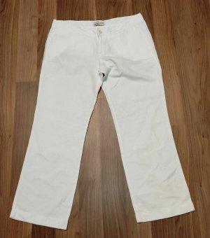 Esprit Pantalone di lino bianco Lino
