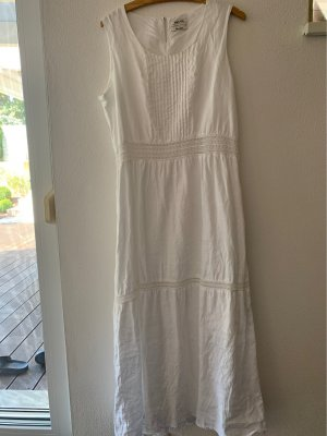 Malvin Maxi abito bianco Lino