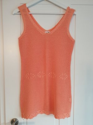Knitted Jumper salmon polyester
