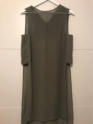 H&M Long Blouse olive green-khaki
