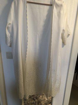 0039 Italy Abrigo ancho blanco puro-blanco