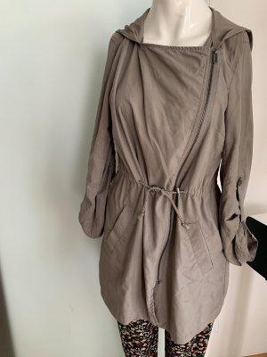 Sommer Mantel in Seiden Optik Gr 36 38 S