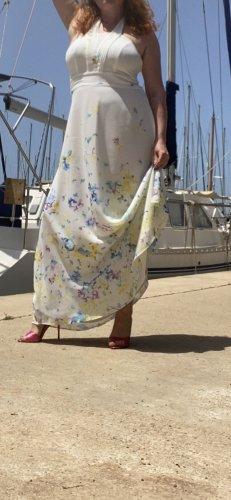 Sommer Maxi Kleid Esprit neuwertig 42 Schulterfrei