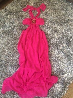 H&M Sukienka gorsetowa fioletowy Poliester