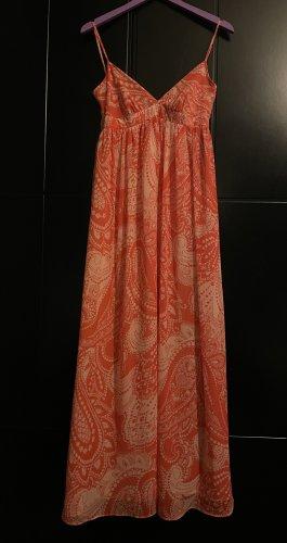 Dorothy Perkins Maxi abito arancione-bianco