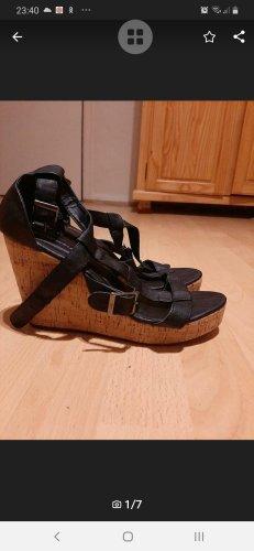 Sommer-Plateau Schuhe