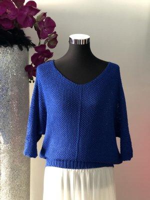 Catwalk Short Sleeve Sweater blue