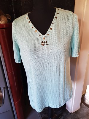 Bonita Short Sleeve Sweater mint