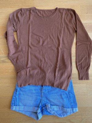 Sommer Pullover in Braun