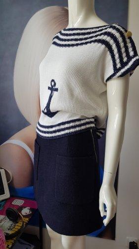 Sommer Pullover matrosen Gaultier style COS Rock 34