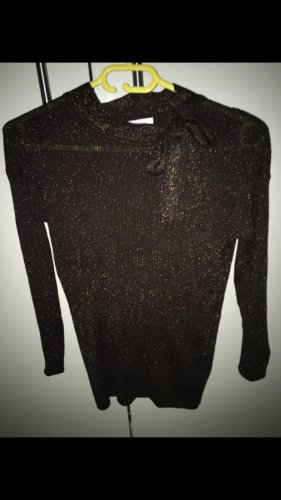 Bluoltre Sweater donkerbruin-goud