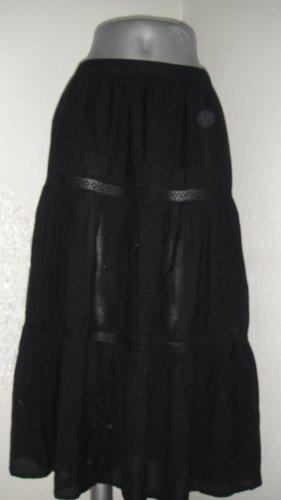 Anna Glover × H&M Kanten rok zwart Katoen