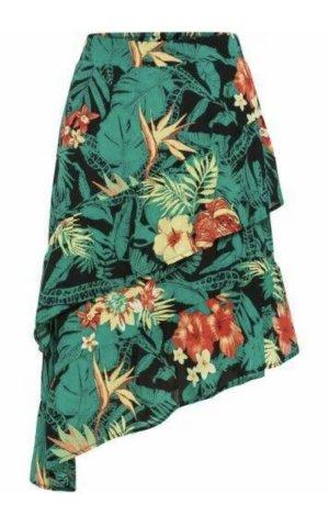 BODY FLIRT Broomstick Skirt multicolored