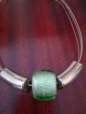 !! SOMMER SALE !! Wunderschöne Kette mit grünem MURANO-GLAS