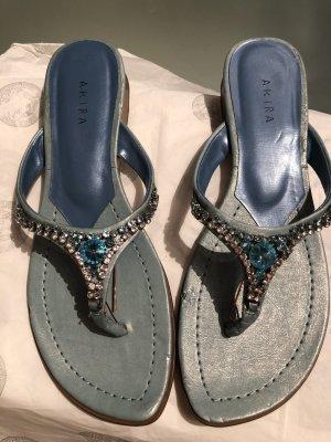 Sommer Sandale mit Strass Steinen Gr. 39 neu und ungetragen