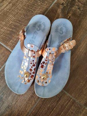Sommer Sandalen Sandaletten Flip-Flops * Leder * neuwertig