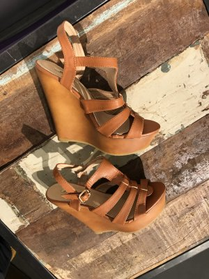 Sommer-Sandalette mit Keilabsatz