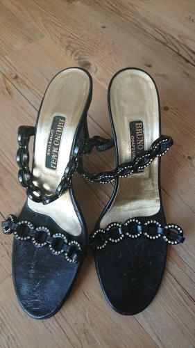 Bruno Magli Strapped High-Heeled Sandals black