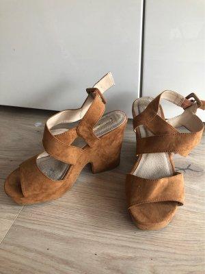 Sommer Sandaletten in velour