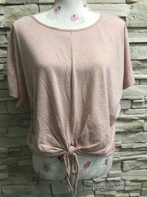 Primark Boothalsshirt stoffig roze
