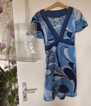 Oasis Robe à manches courtes multicolore