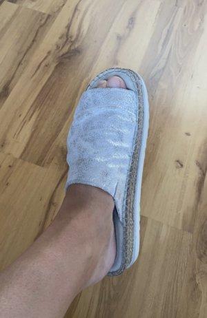 Lasocki Sandalias con plataforma color plata-gris claro