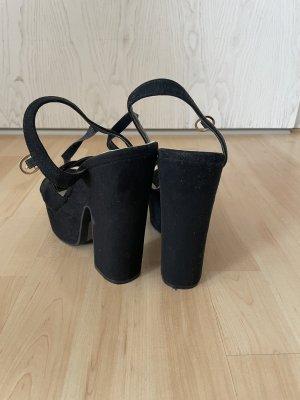 Sandalo outdoor nero