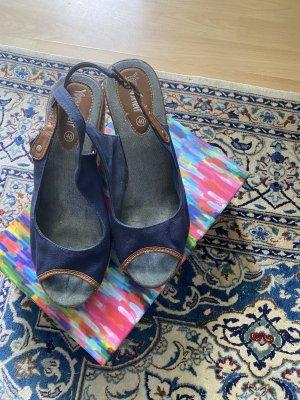 Sommer Schuhe Keilabsatz Gr 40 Young Spirit
