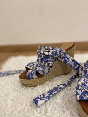 H&M Outdoor sandalen wit-blauw