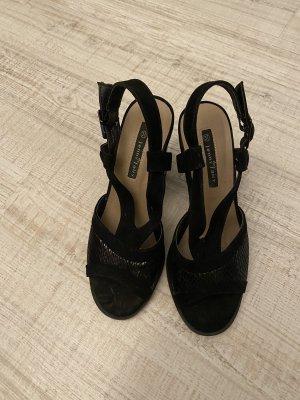 Jenny Fairy Outdoor sandalen zwart Leer