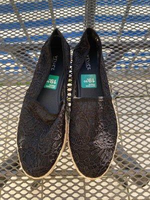 -8- Venice Ballerines classiques noir-brun