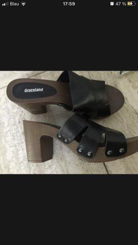Graceland Clog Sandals multicolored